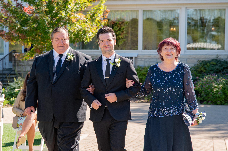 intimate daytime wedding, Chicago wedding photographer