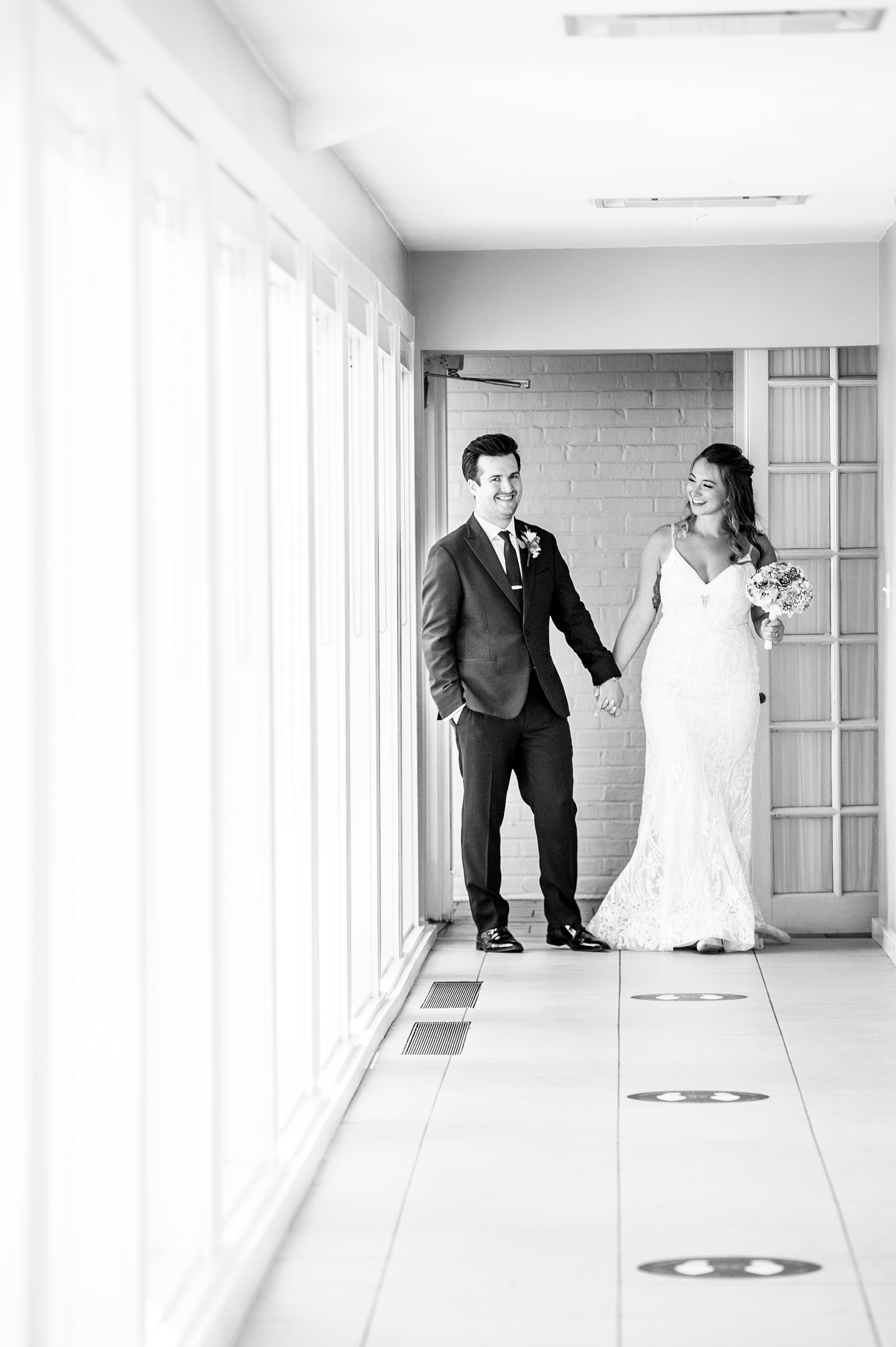 Chicago wedding photographer, intimate daytime wedding