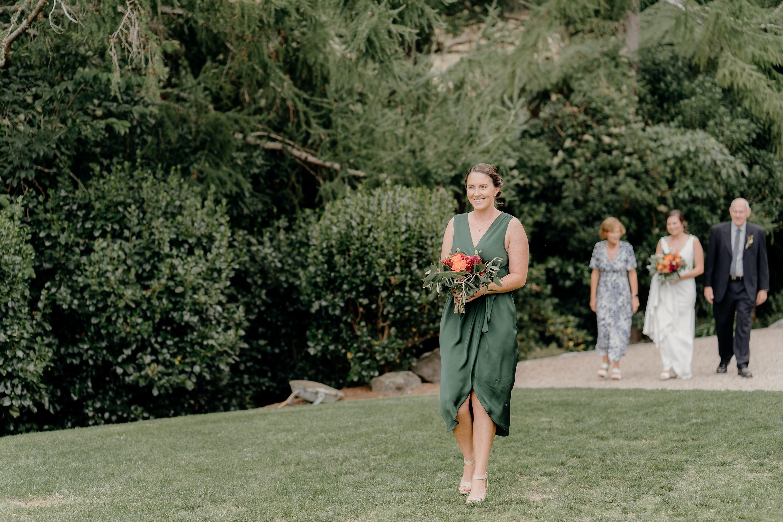 Forest Green Wedding,Rotorua Wedding Photographer