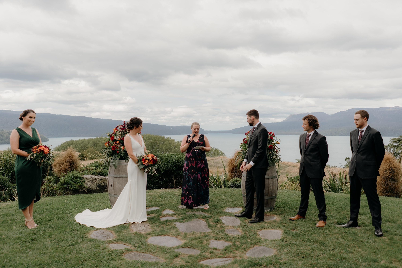 Lake Tarawera Wedding,Black Barn Lake Tarawera Wedding Photographer