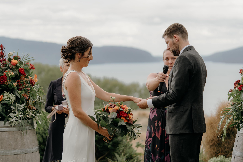 Lake Tarawera Wedding
