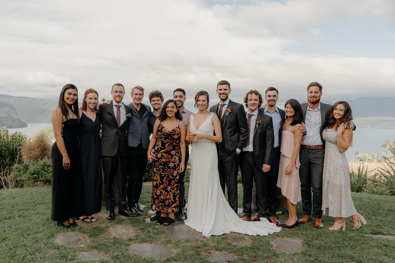 Black Barn Lake Tarawera Wedding
