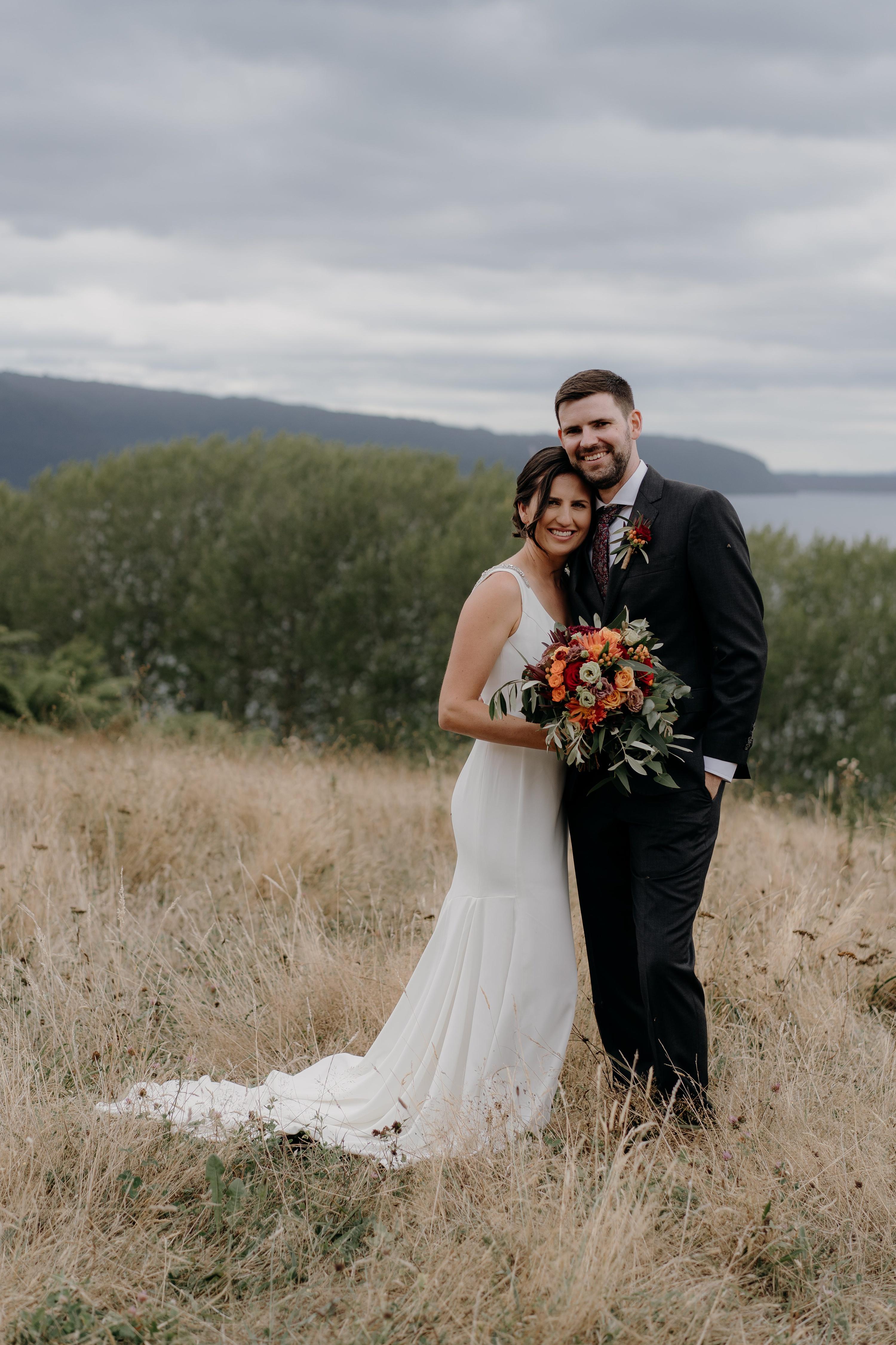 New Zealand Wedding,Black Barn Lake Tarawera Wedding