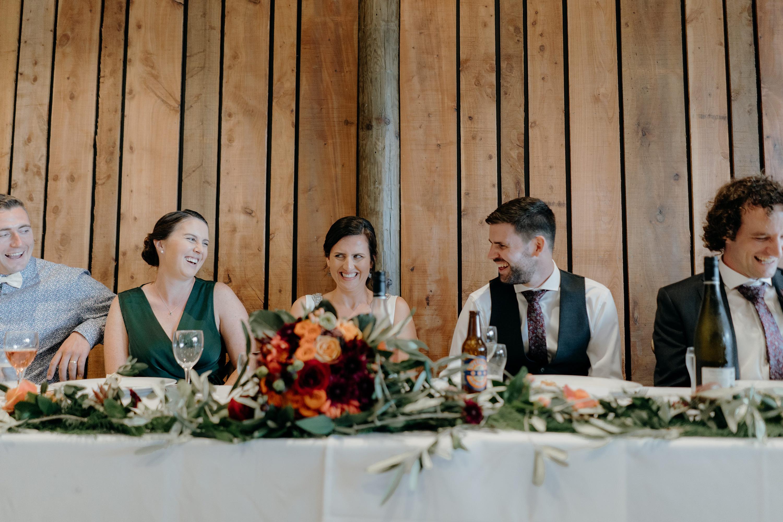 Forest Green Wedding