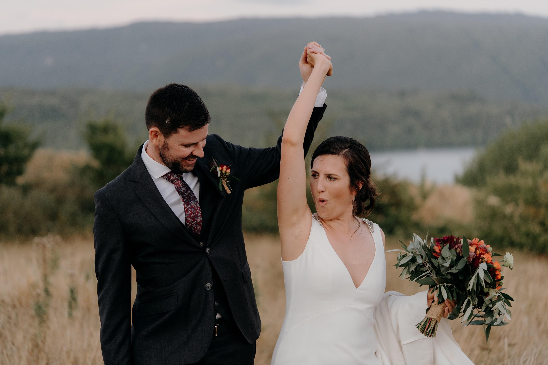 Lake Tarawera Wedding,Back Barn Wedding