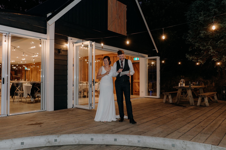Black Barn Lake Tarawera Wedding,Forest Green Wedding