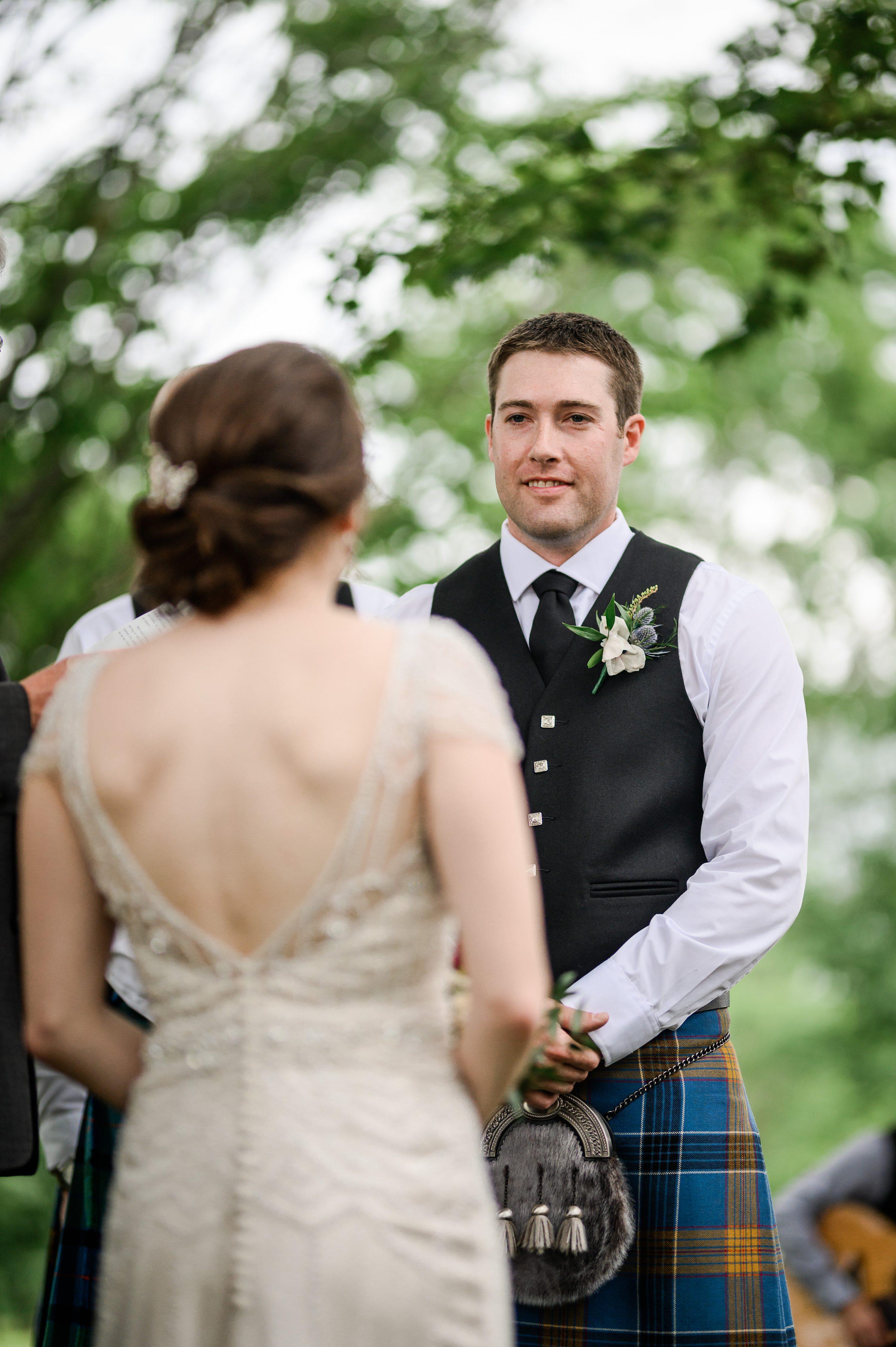 Mariage écossais, cornwall wedding