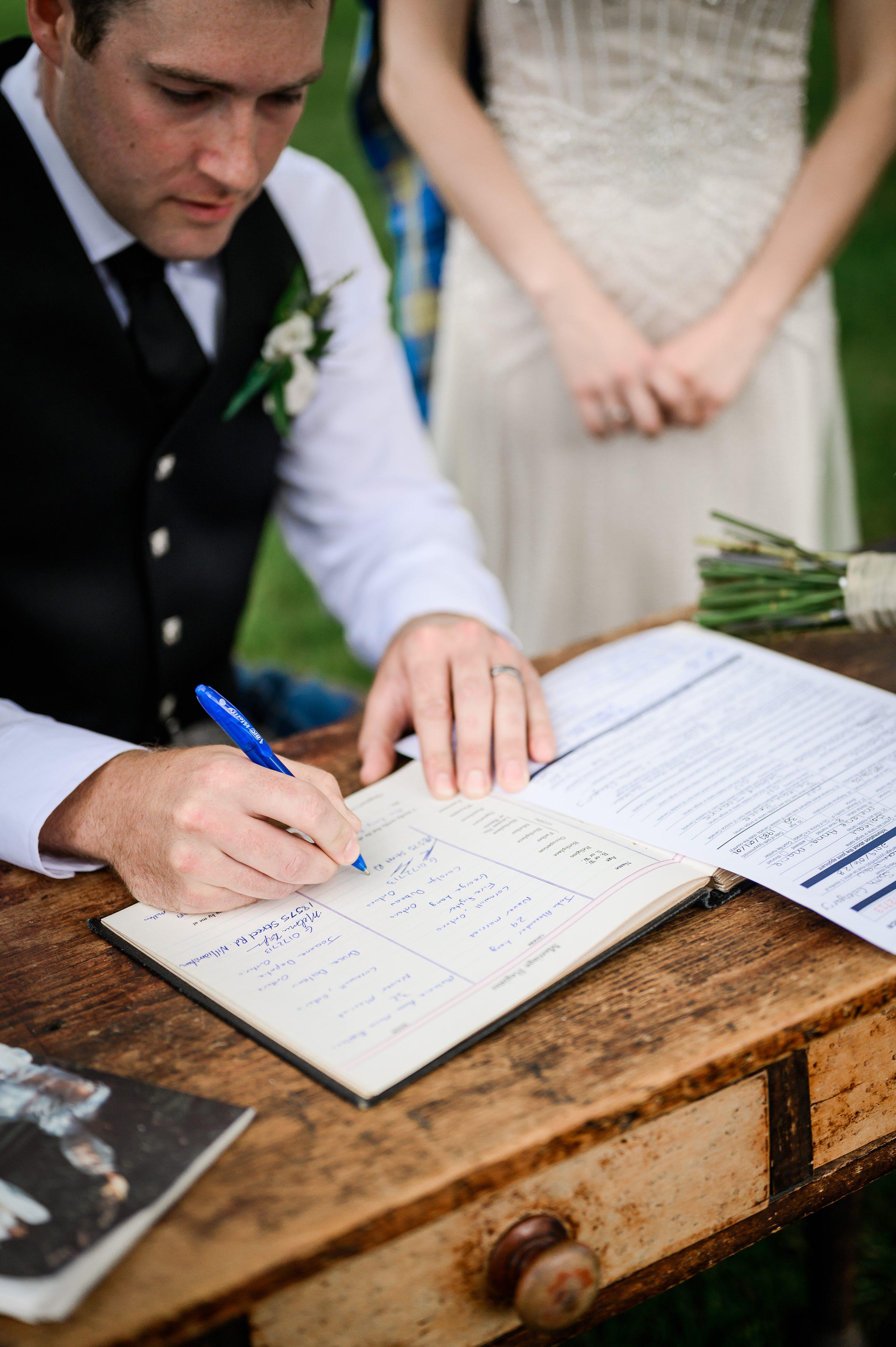 cornwall wedding, williamstown fair