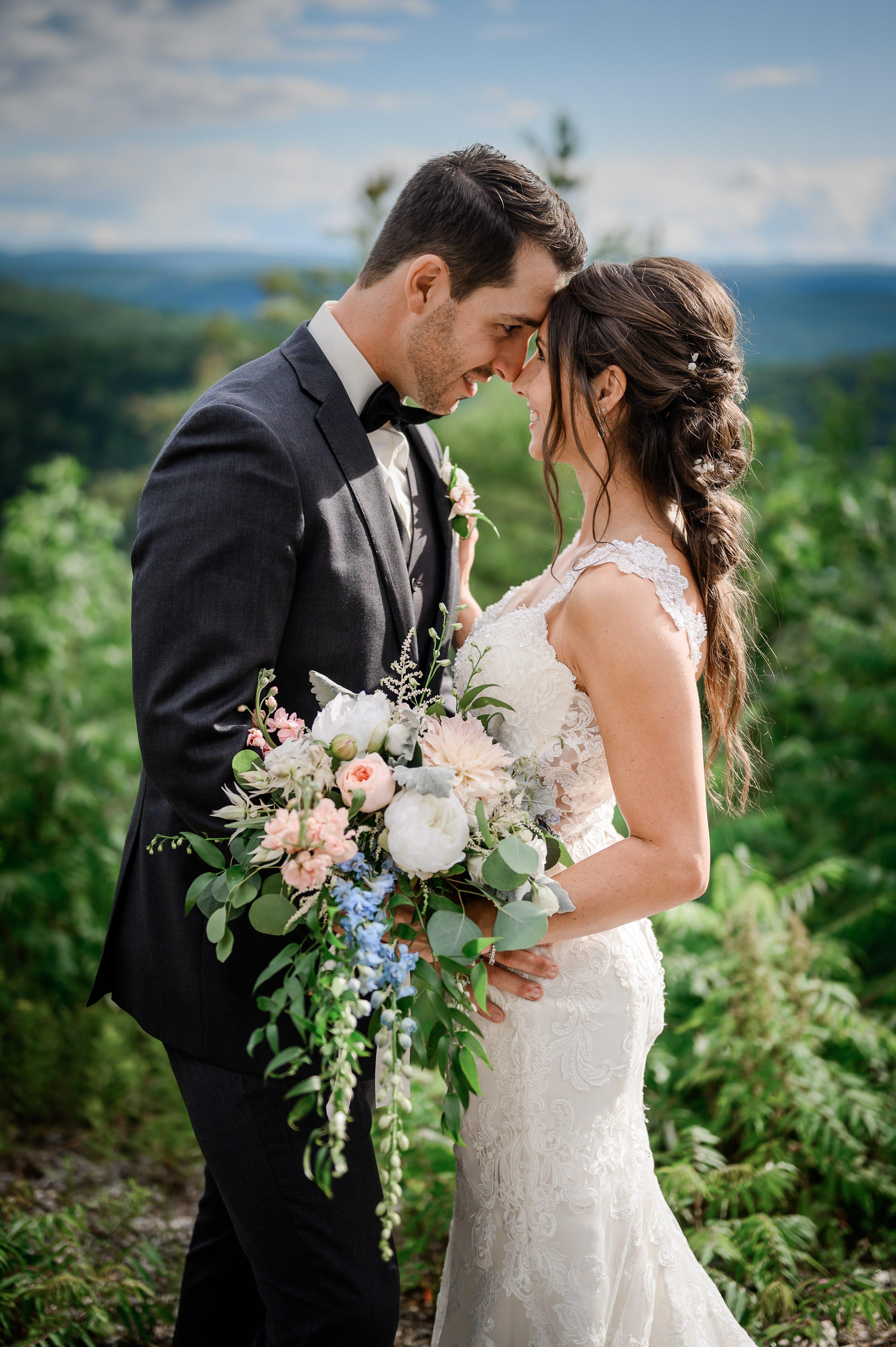 blue-grey bridesmaids,wedding vendors