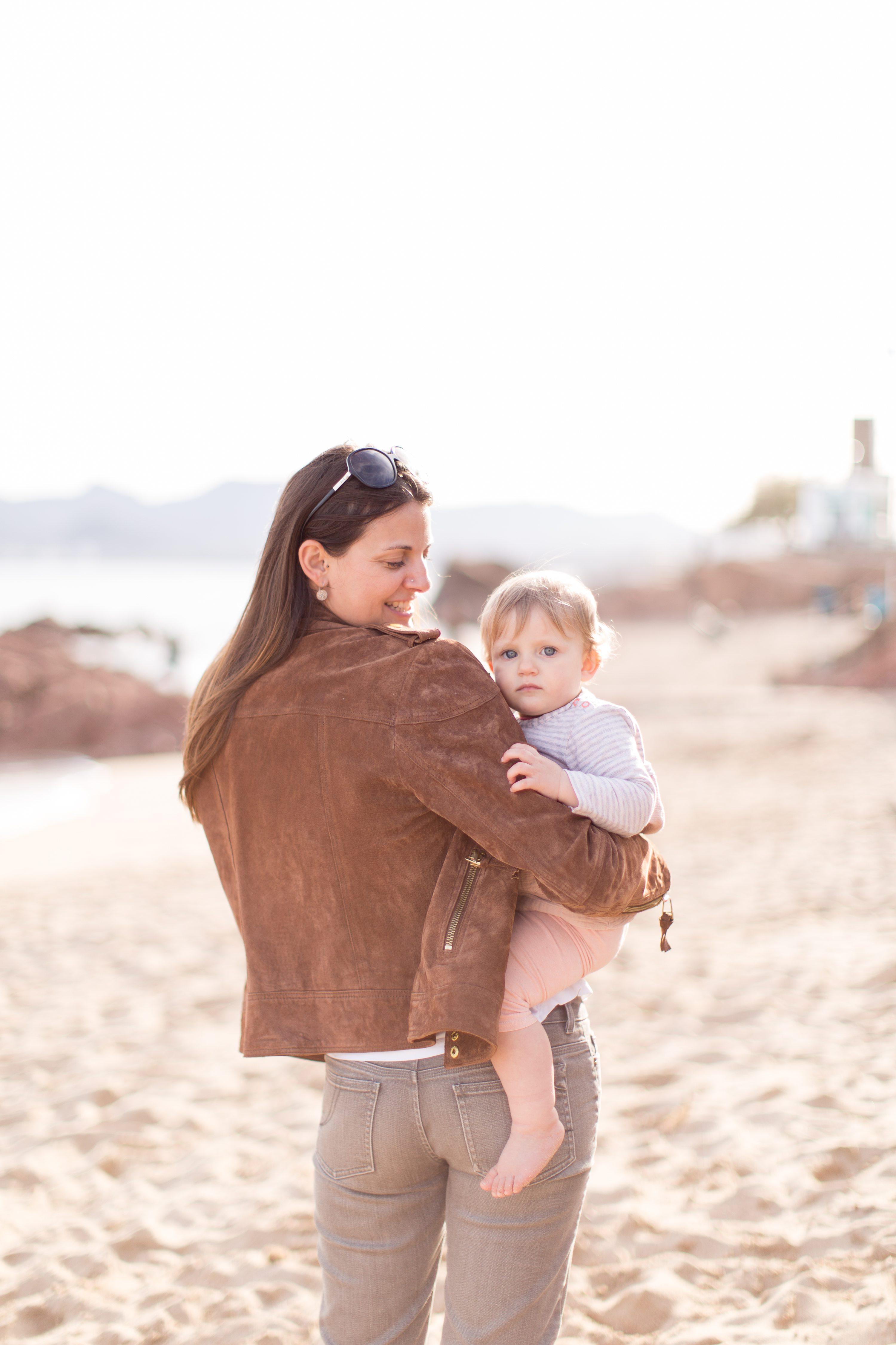 Séance photo bord de mer Cannes,Shooting mère-fille