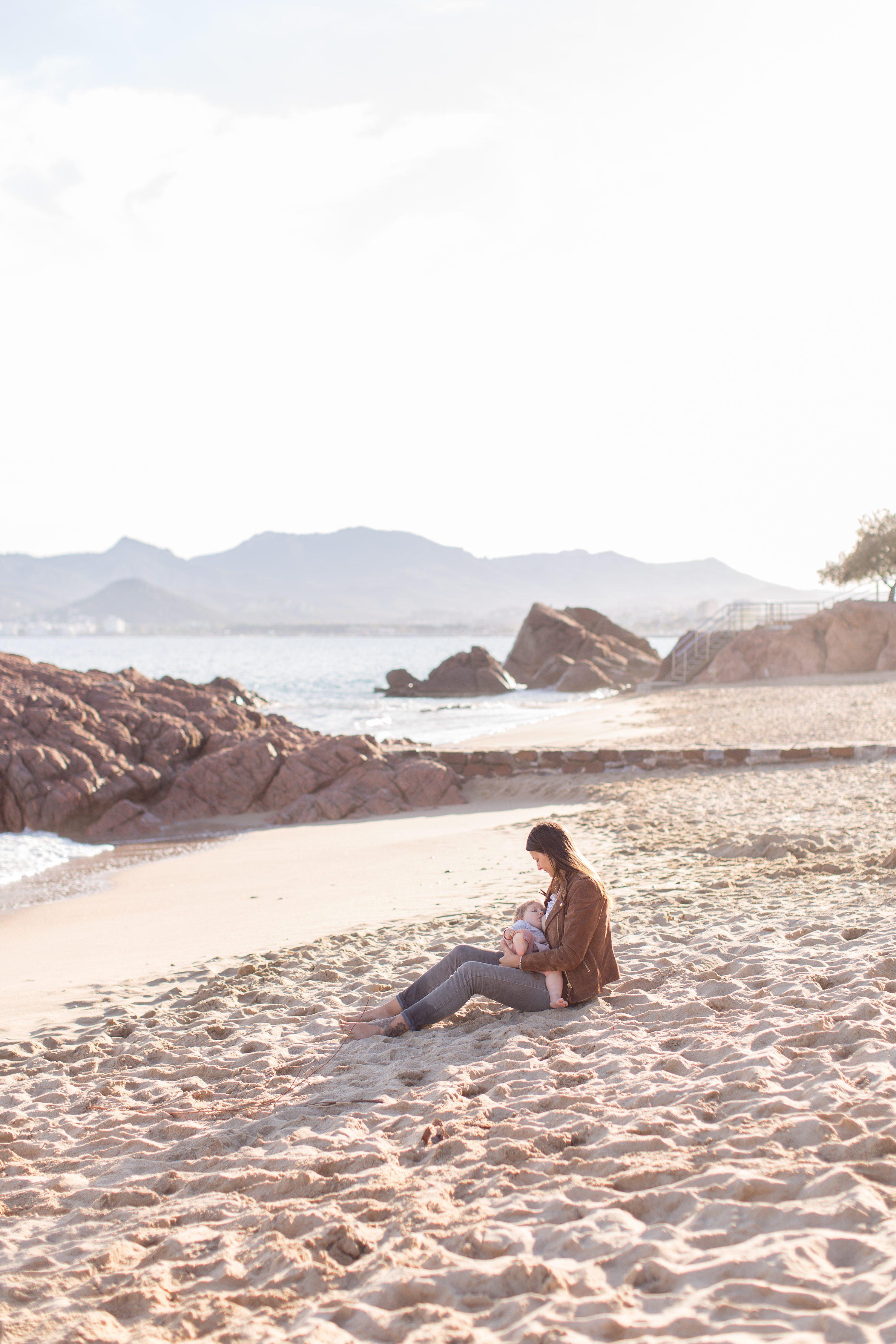 Séance photo plage Cannes,Shooting mère-fille Cannes