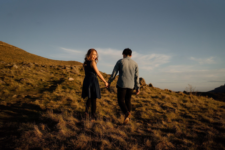 engagement session,sunset session,port hills,Christchurch engagement sesssion,Christchurch photography,Sugarloaf