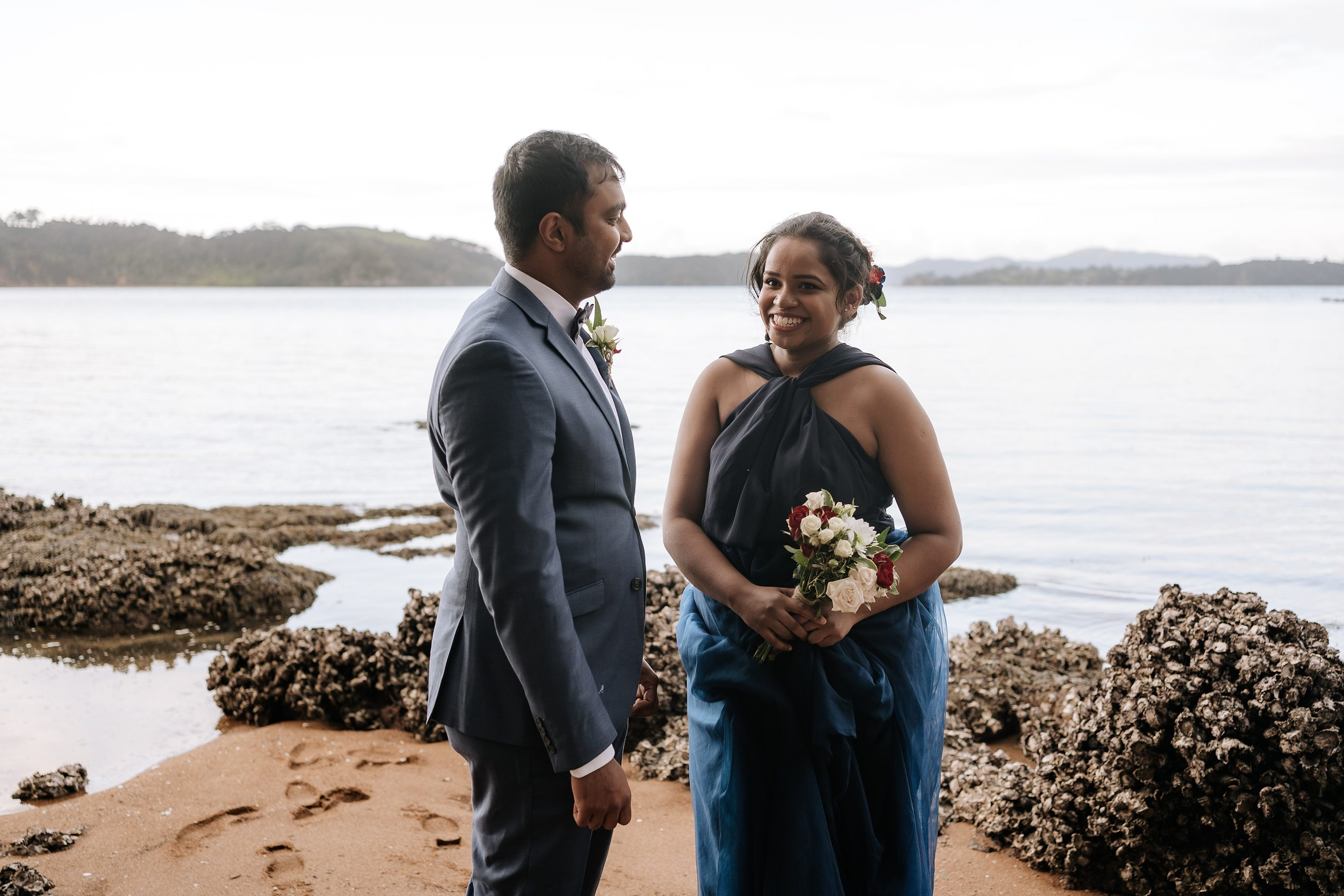Paihia Wedding,Sri lankan couple