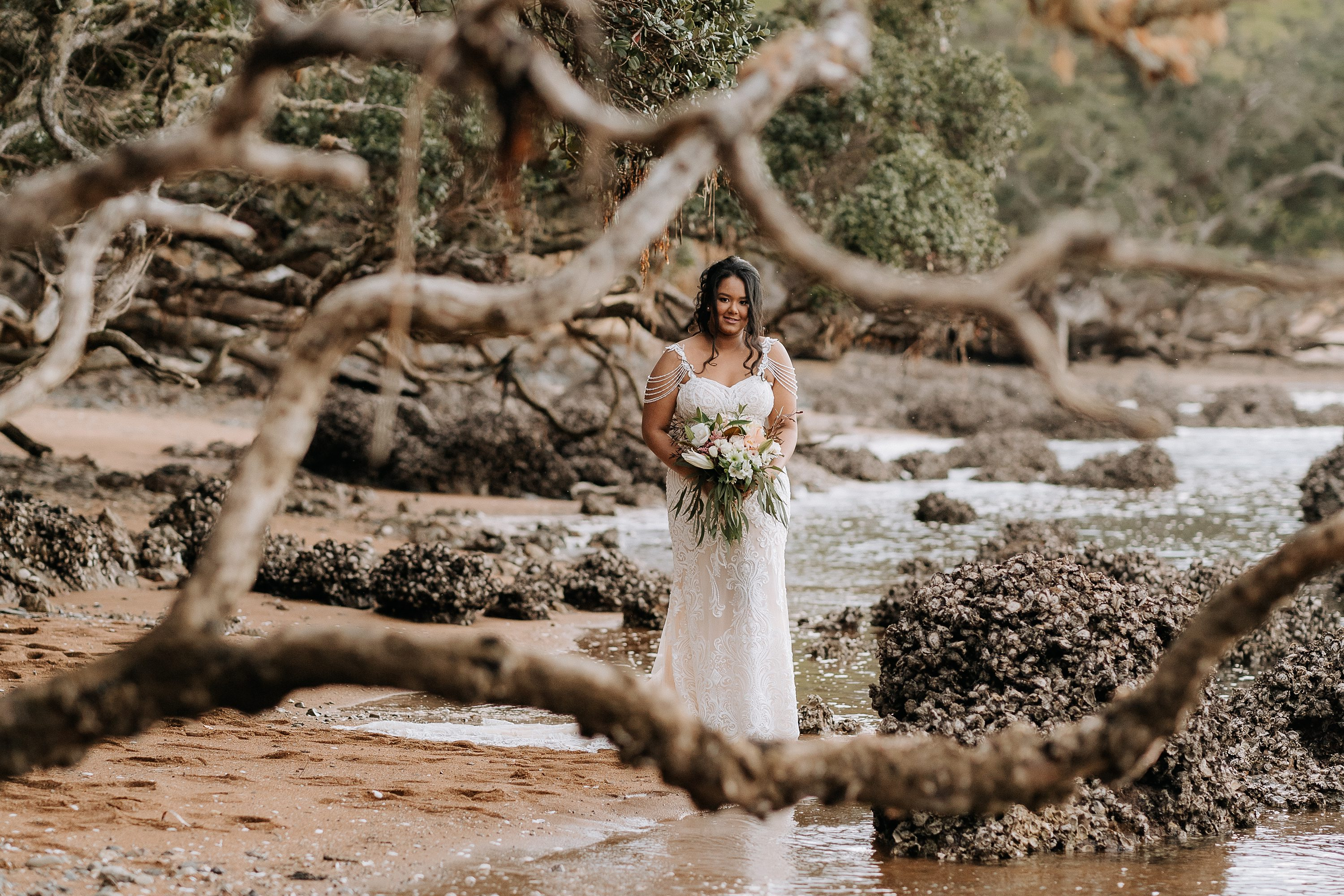 beach wedding,Northland Wedding