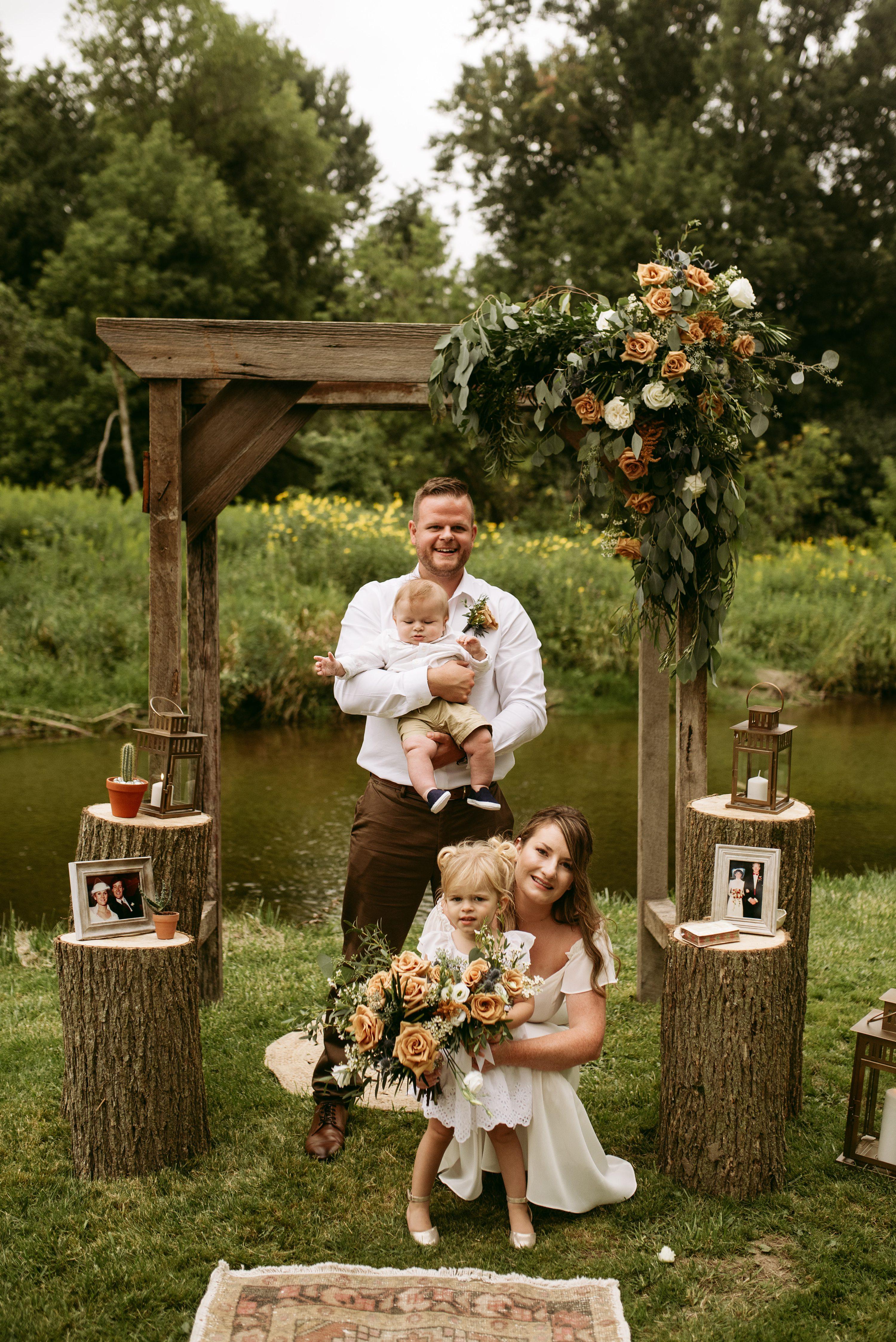 muskoka elopement,simple wedding