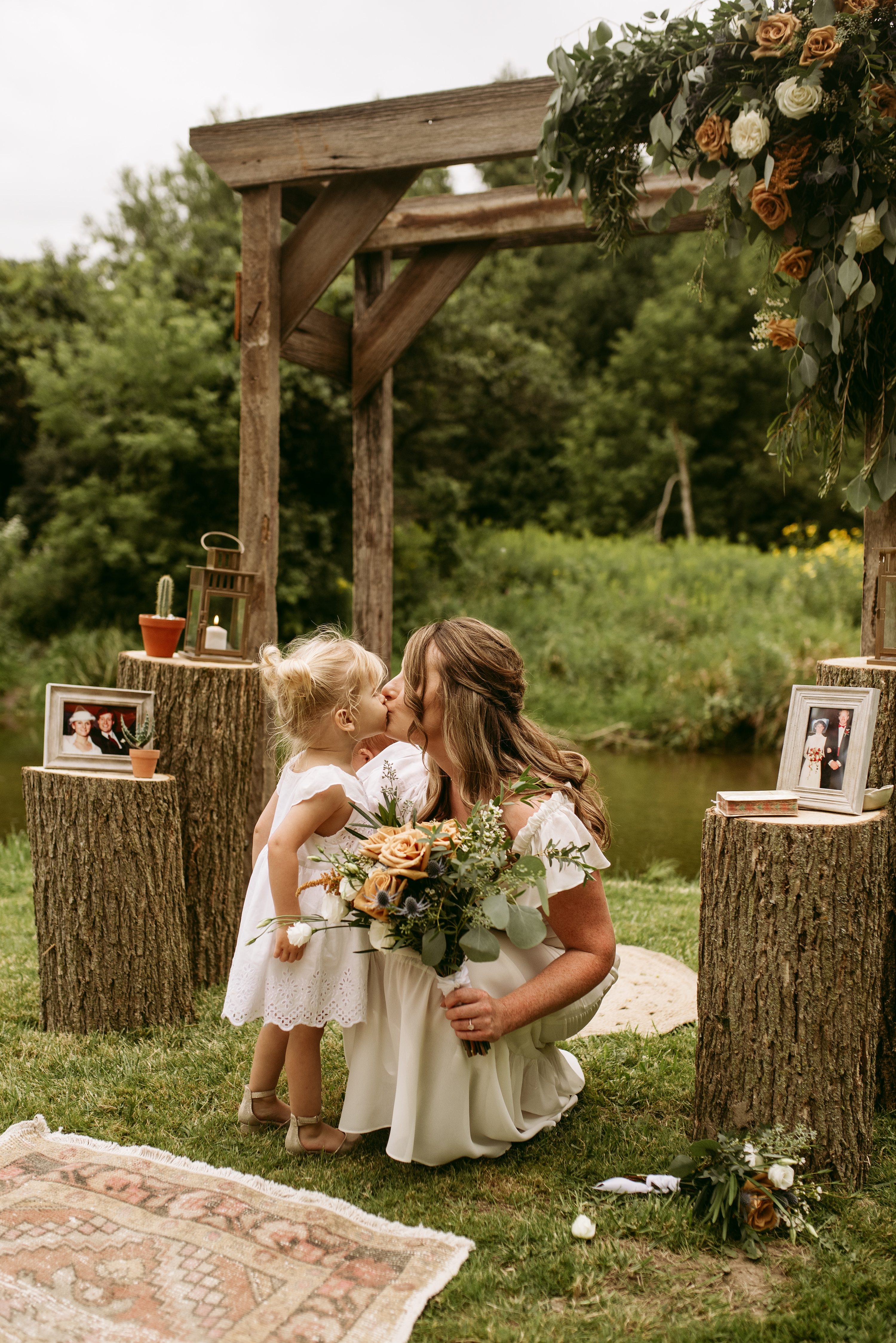 ontario wedding,backyard elopement