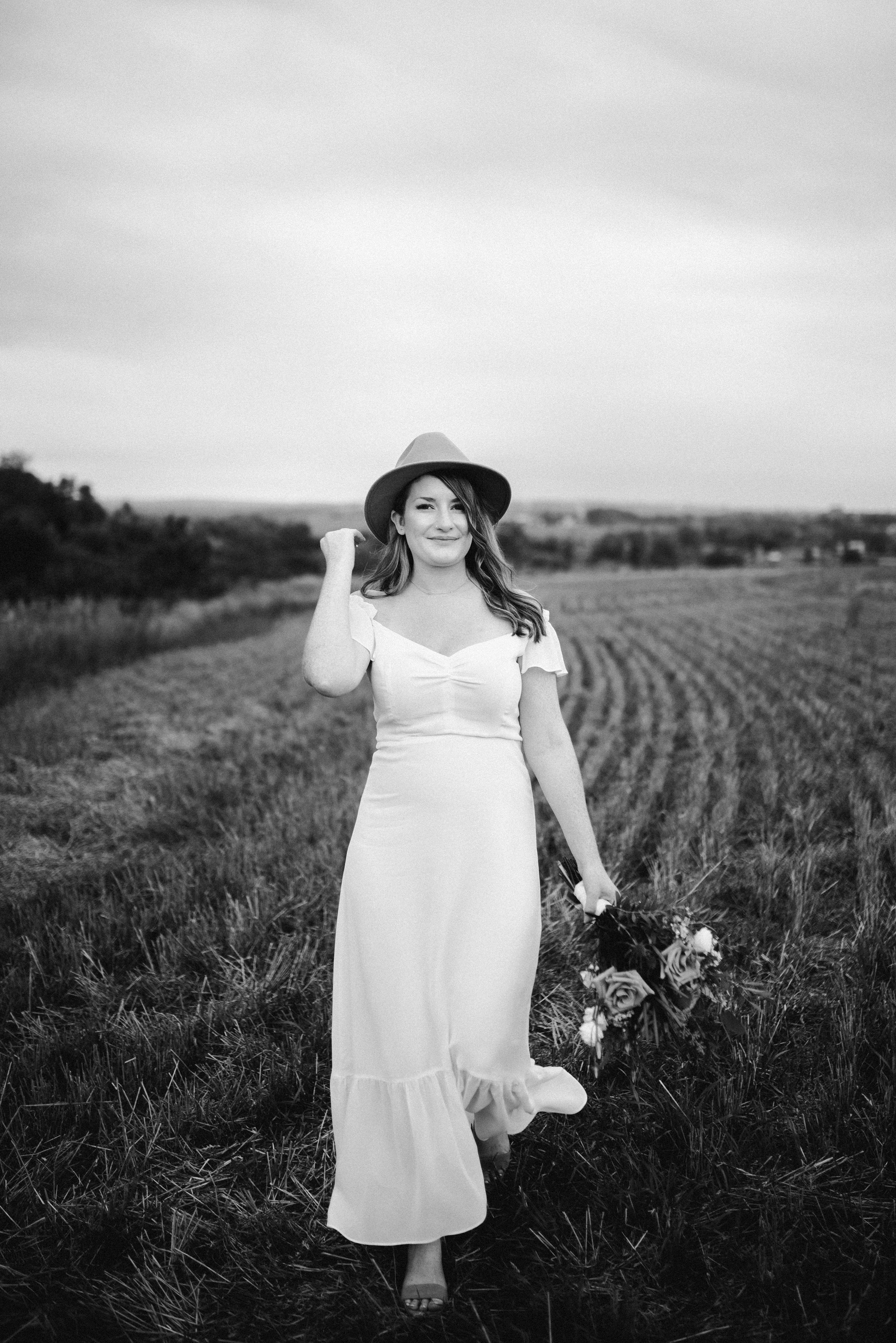 muskoka elopement,wedding with dogs