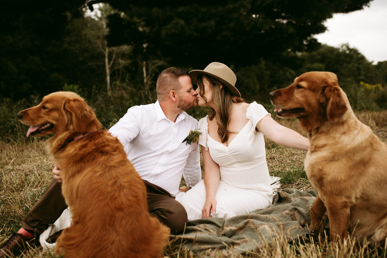 wedding with kids,muskoka elopement