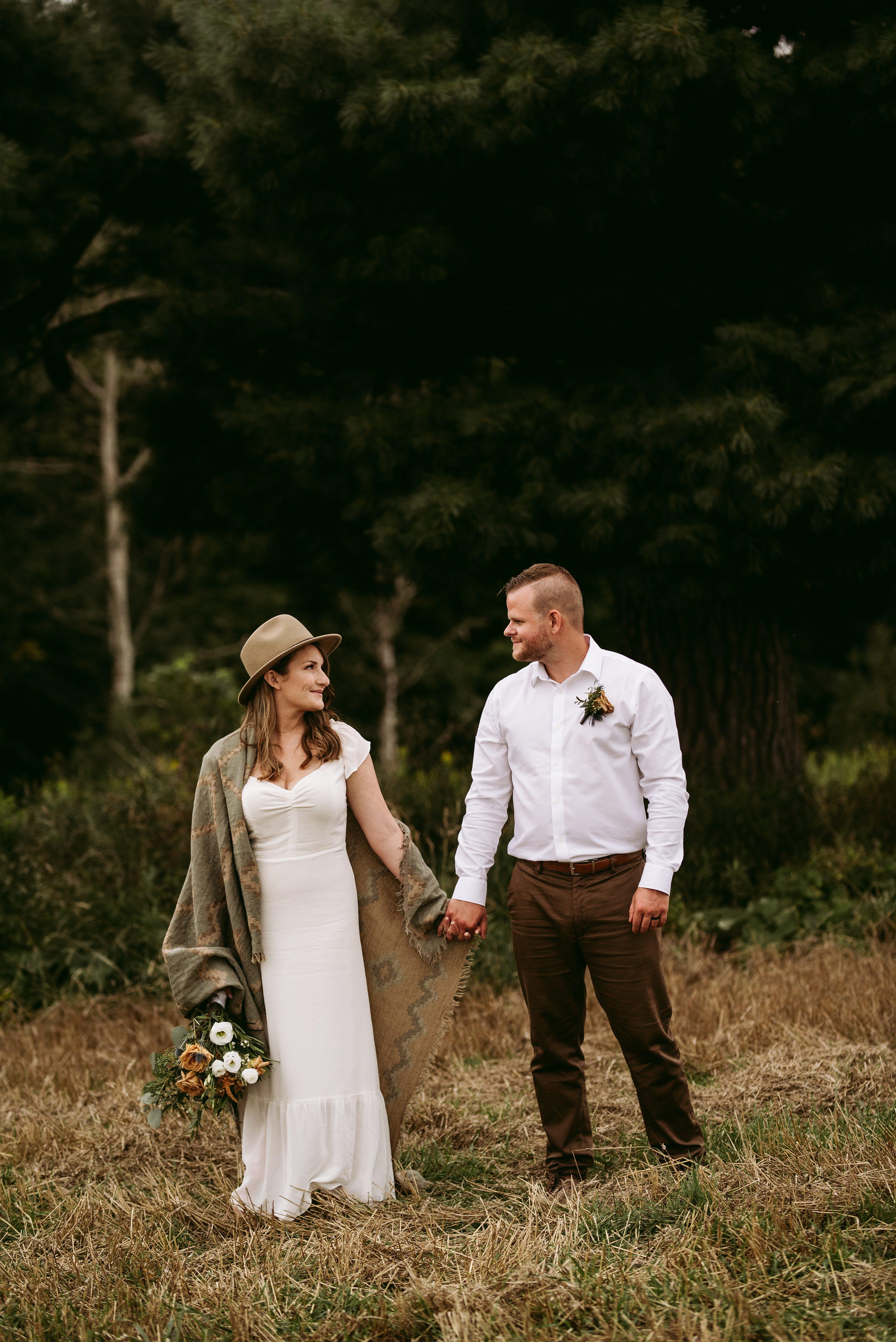 muskoka elopement,ontario wedding
