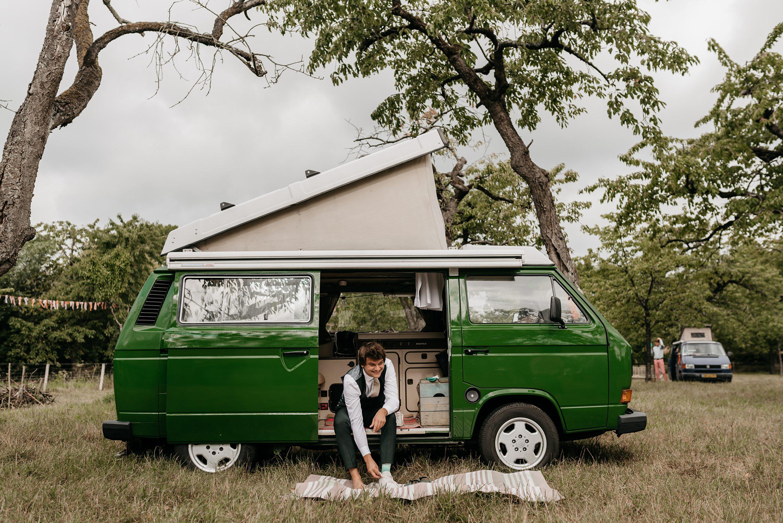 trouwfotograaf,kamperen