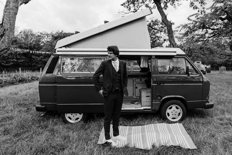 trouwfotograaf, camping