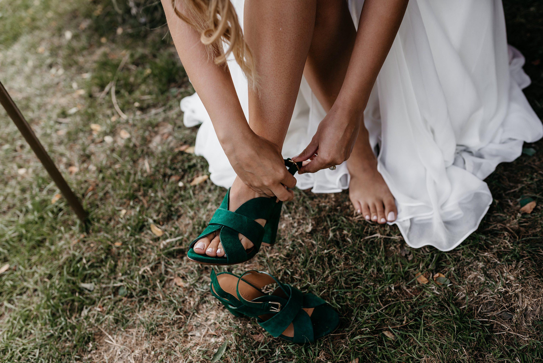 camping, bruiloft