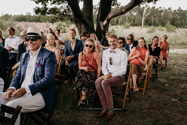 bruidsfotograaf, festivalbruiloft,trouwen op de hei