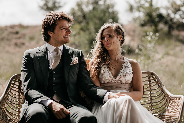 bruidsfotograaf, festivalbruiloft