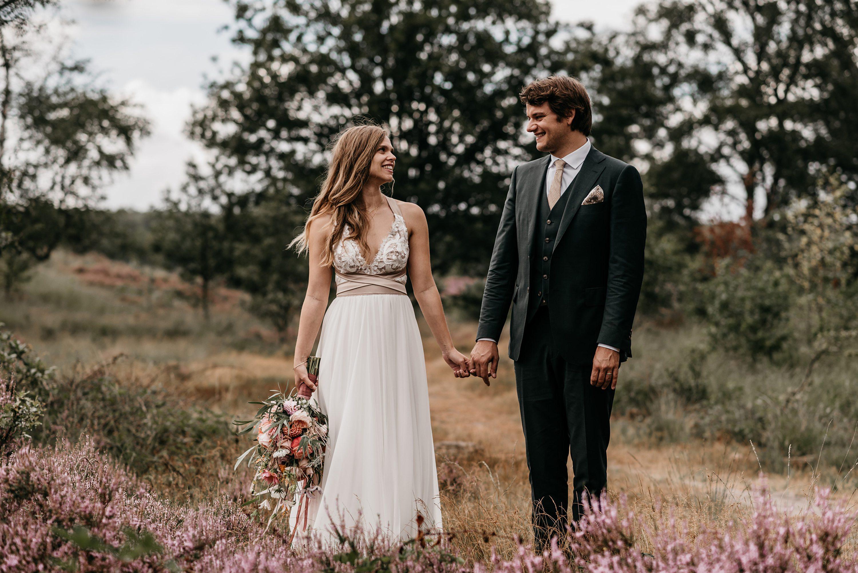trouwen,campingbruiloft