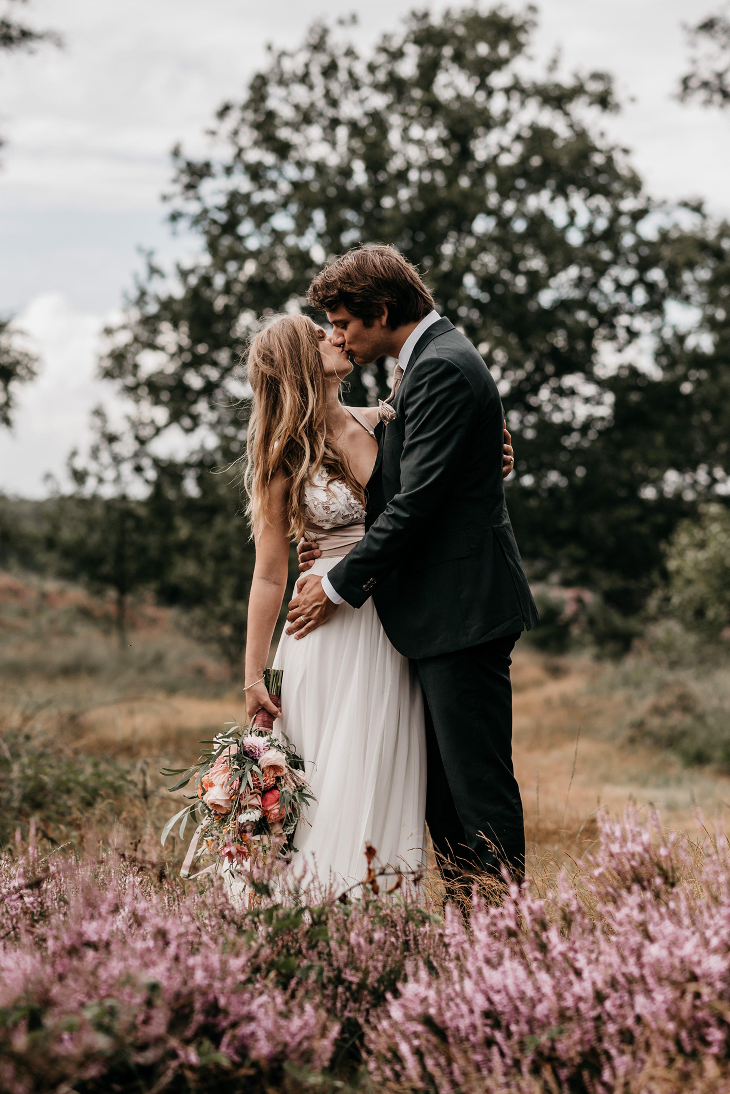 bruidsfotograaf, camping