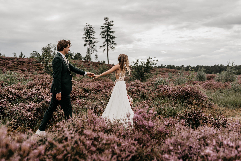 festivalbruiloft, trouwen