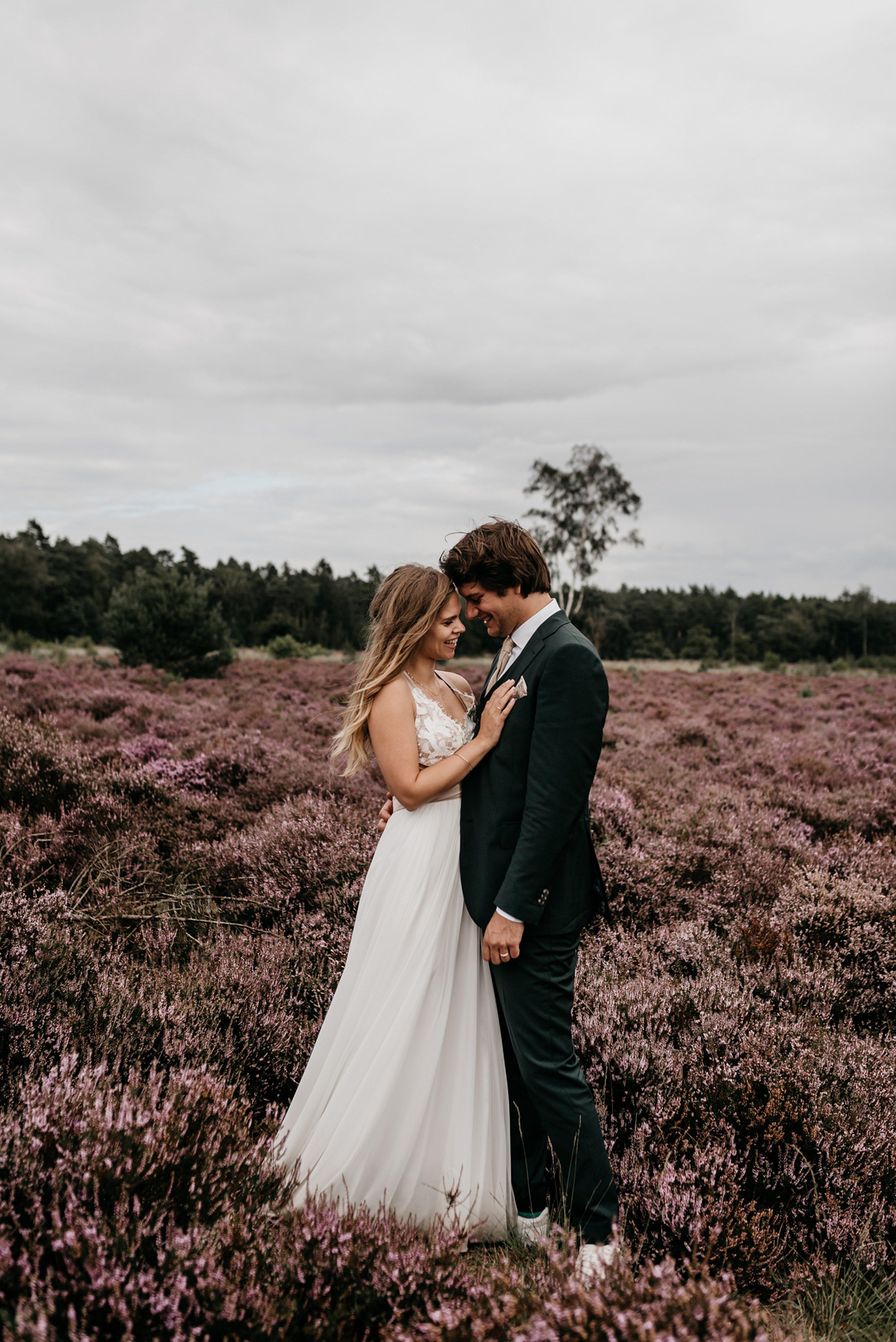 camping, bruidsfotograaf,heide