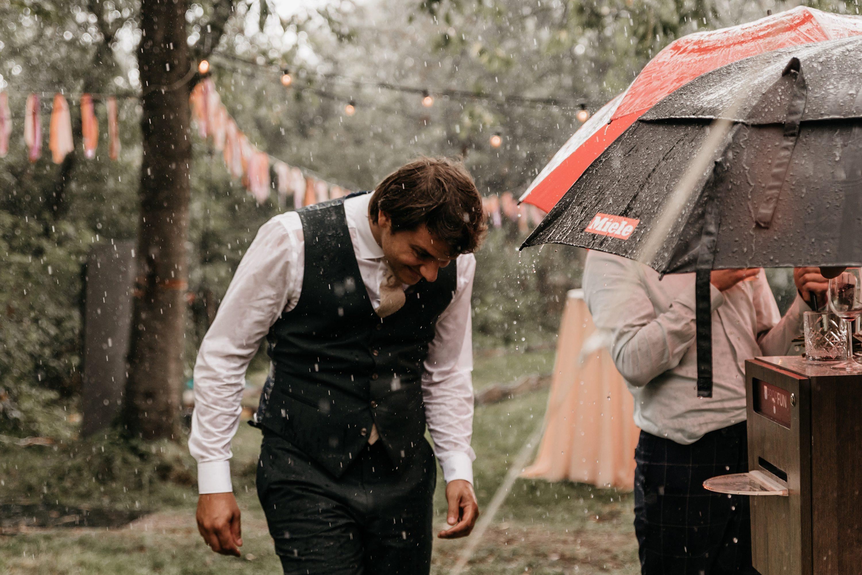 kamperen, trouwen