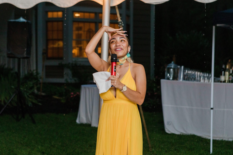 NJ elopement wedding, backyard wedding photographer