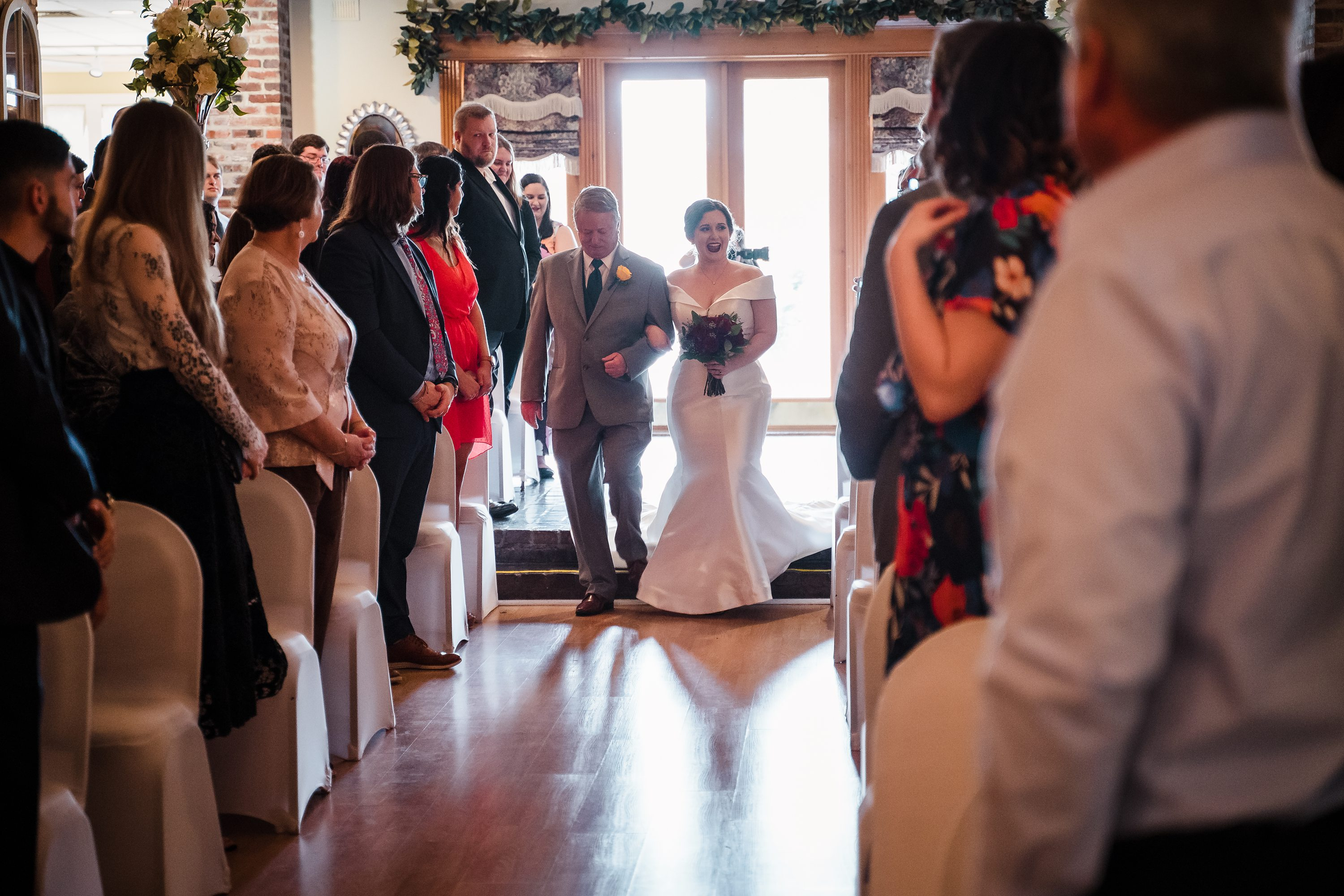 indoor oak lodge wedding,oak lodge wedding
