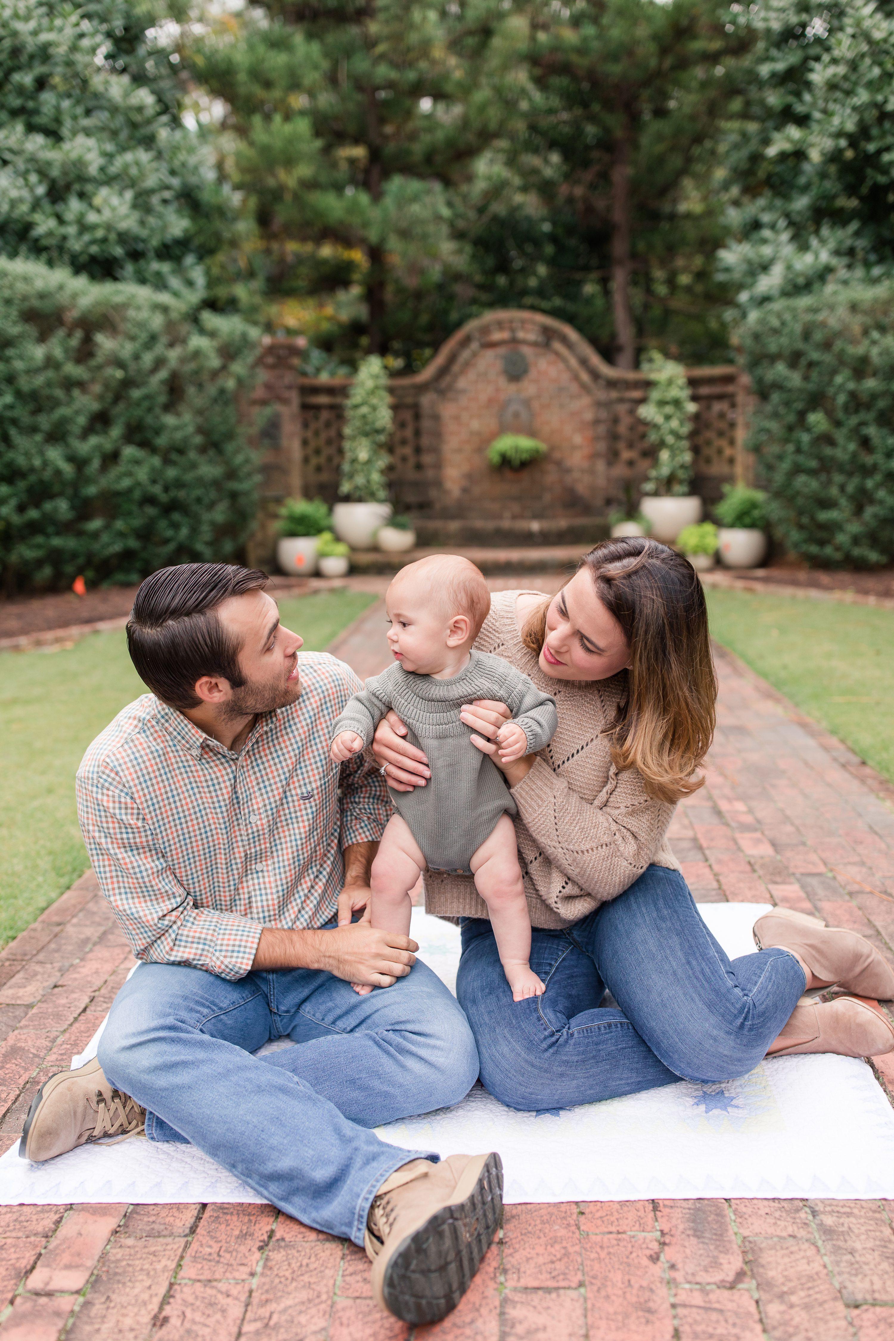 Pinehurst Portrait Photographer,6 month portraits