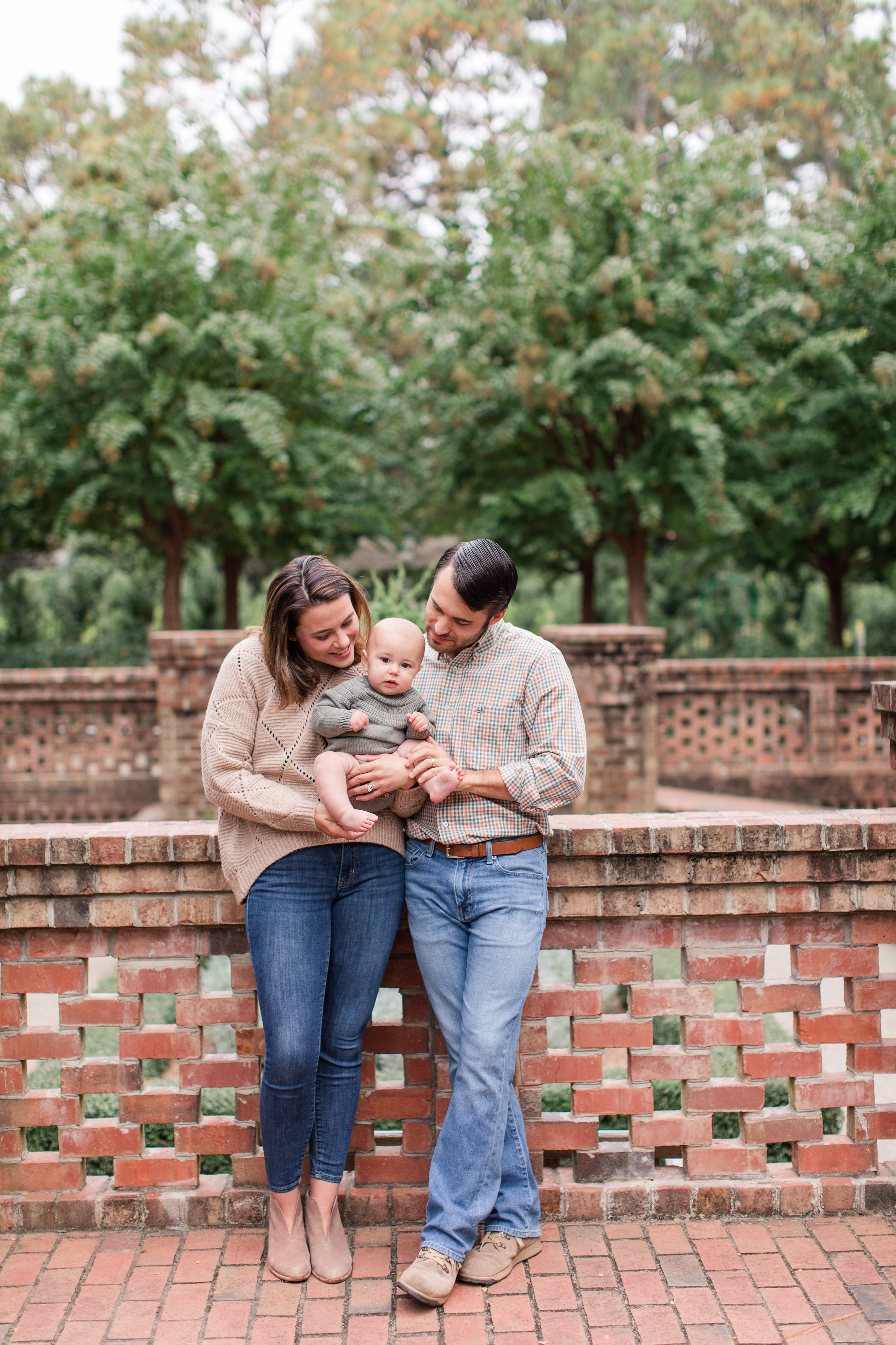 6 month portraits,Southern pines Family Photographer