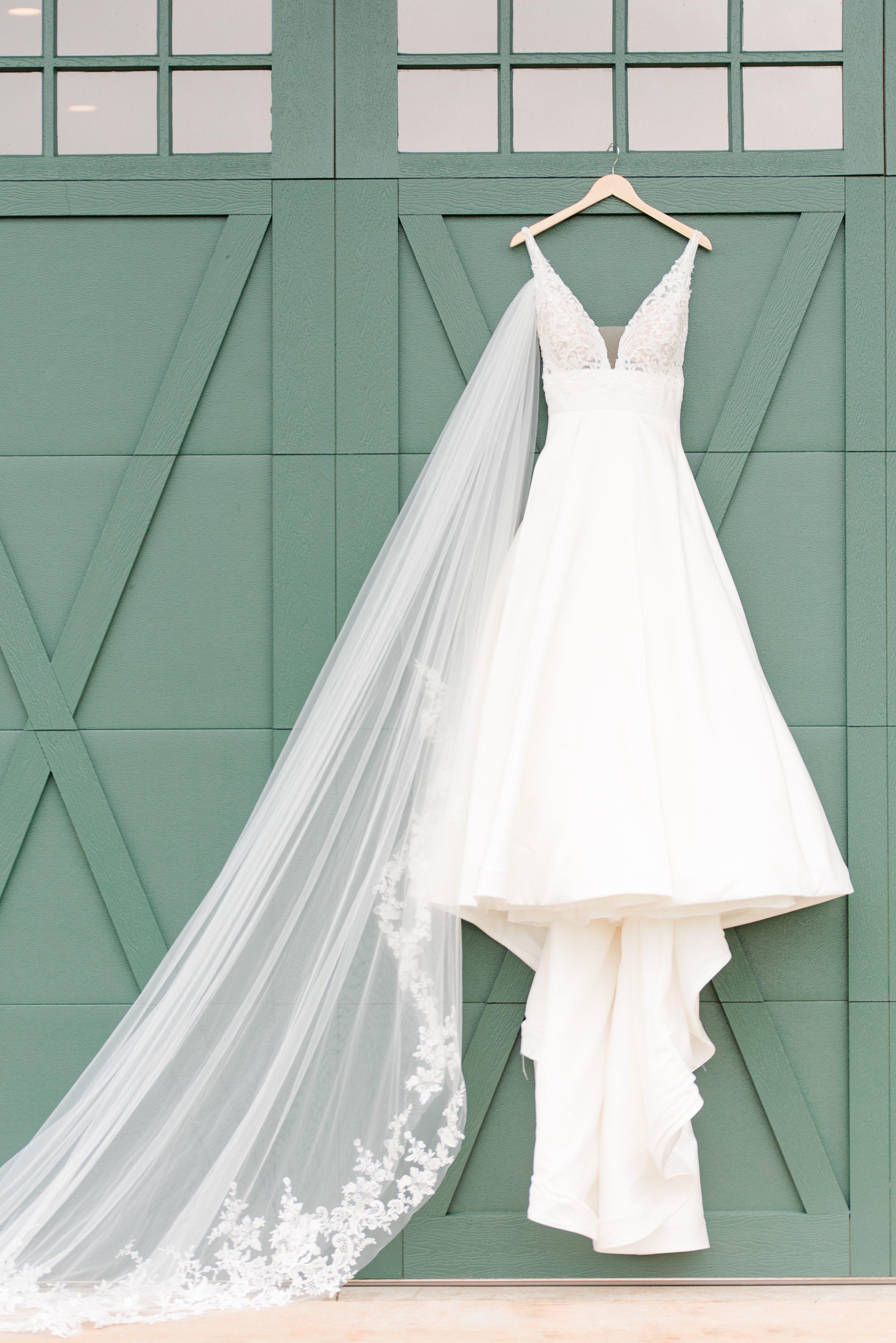Blue Ridge Mountains Wedding,Wedding Dress,Wedding Veil,Veil,Dress,hanging dress,barn doors