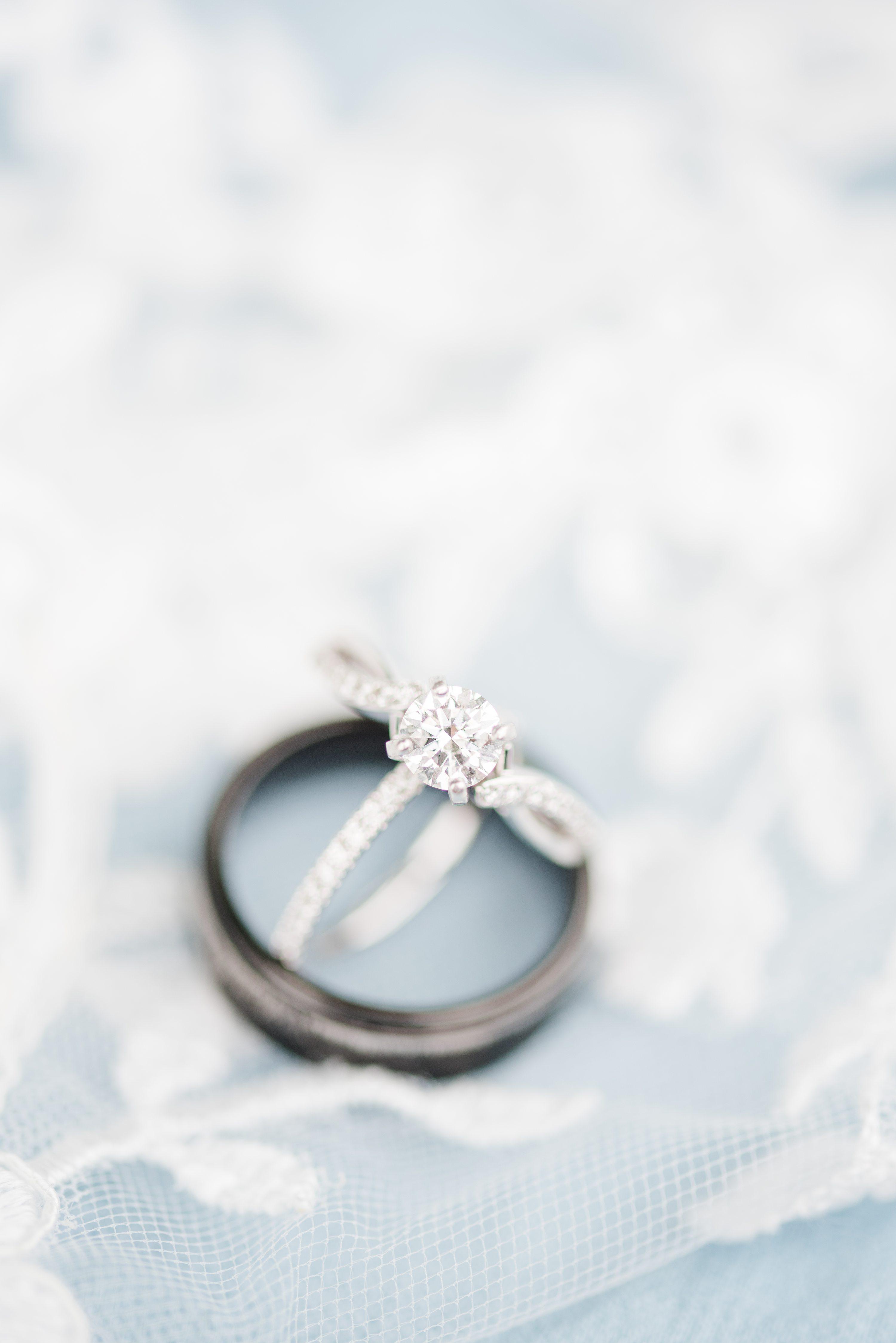 Blue Ridge Mountains,Ring,Outdoor Spring Wedding,wedding rings,ring detail,detail shot
