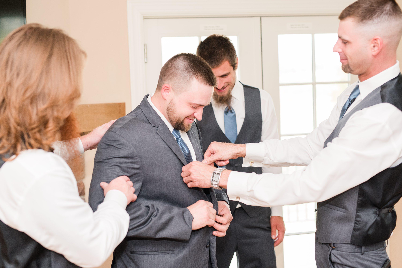 Outdoor Spring Wedding,Southern Wedding,groom,edgewood barn,Barn at Edgewood,getting ready,groom getting ready