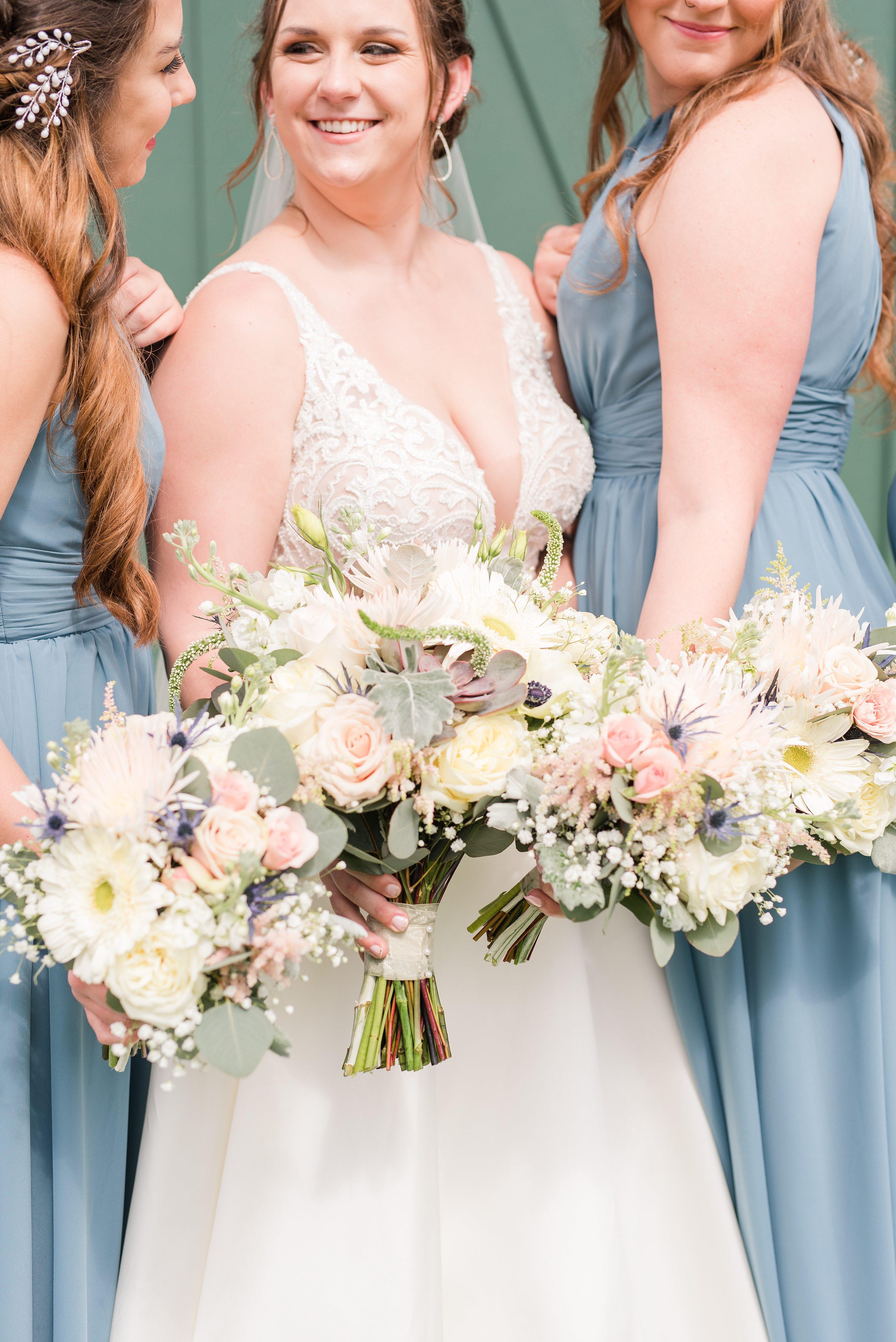 Blue Ridge Mountains Wedding,Barn at Edgewood,Barn at Edgewood,bride and bridesmaids,bridesmaids,bride,bridal bouquet,wedding flowers,floral bouquet