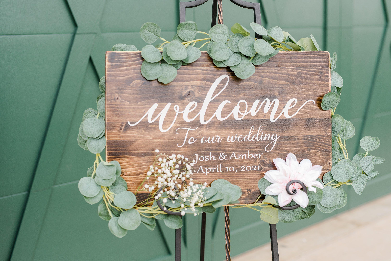 Virginia Wedding Photographer,Blue Ridge,wedding details,ceremony details,wooden sign