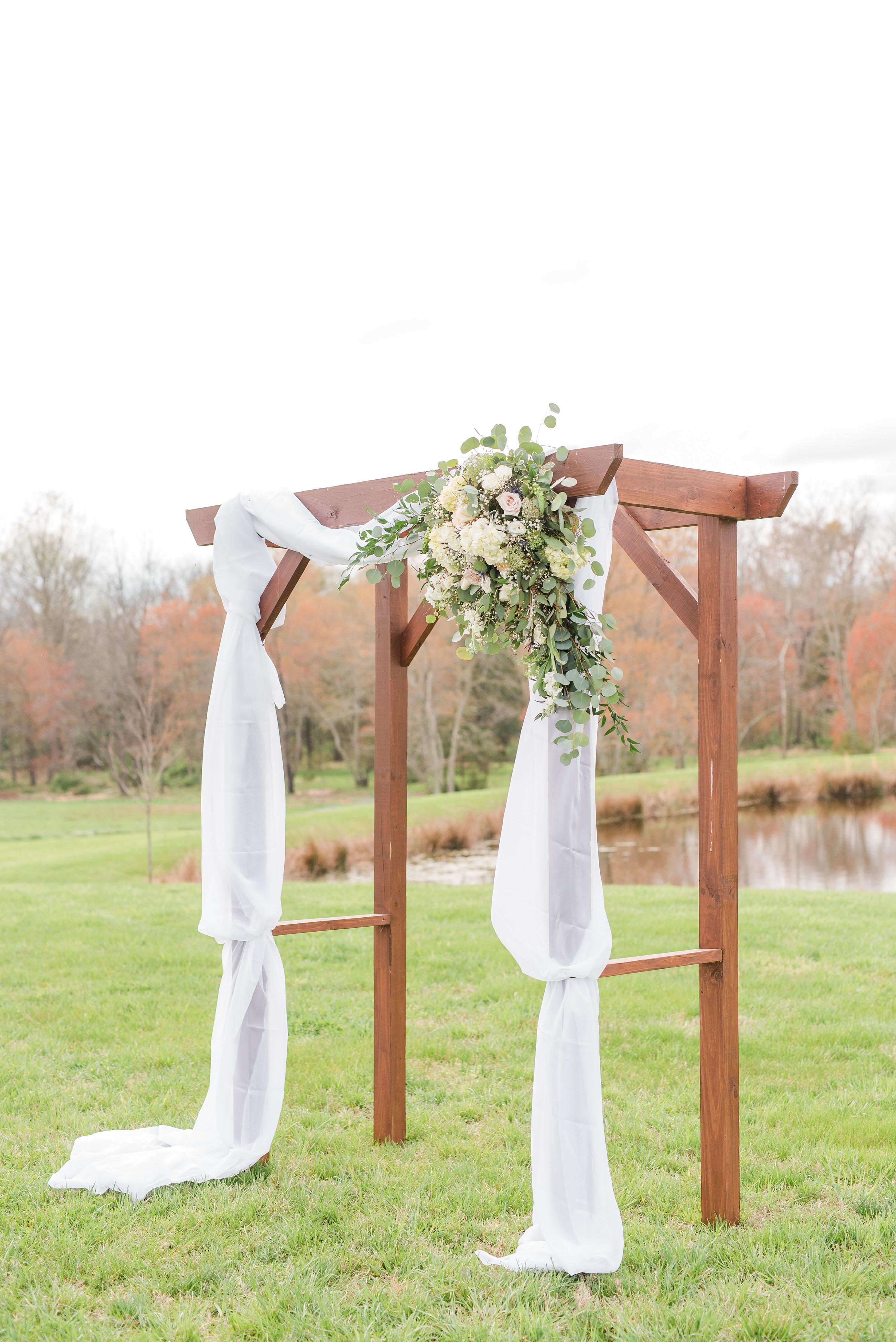 Outdoor Spring Wedding,Spring,ceremony arbor,arbor,wedding ceremony