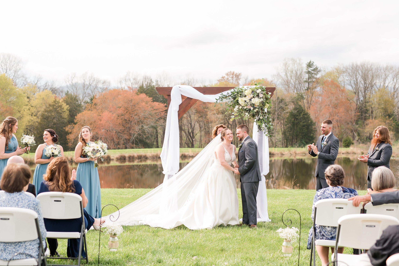 Mountains,Spring Wedding