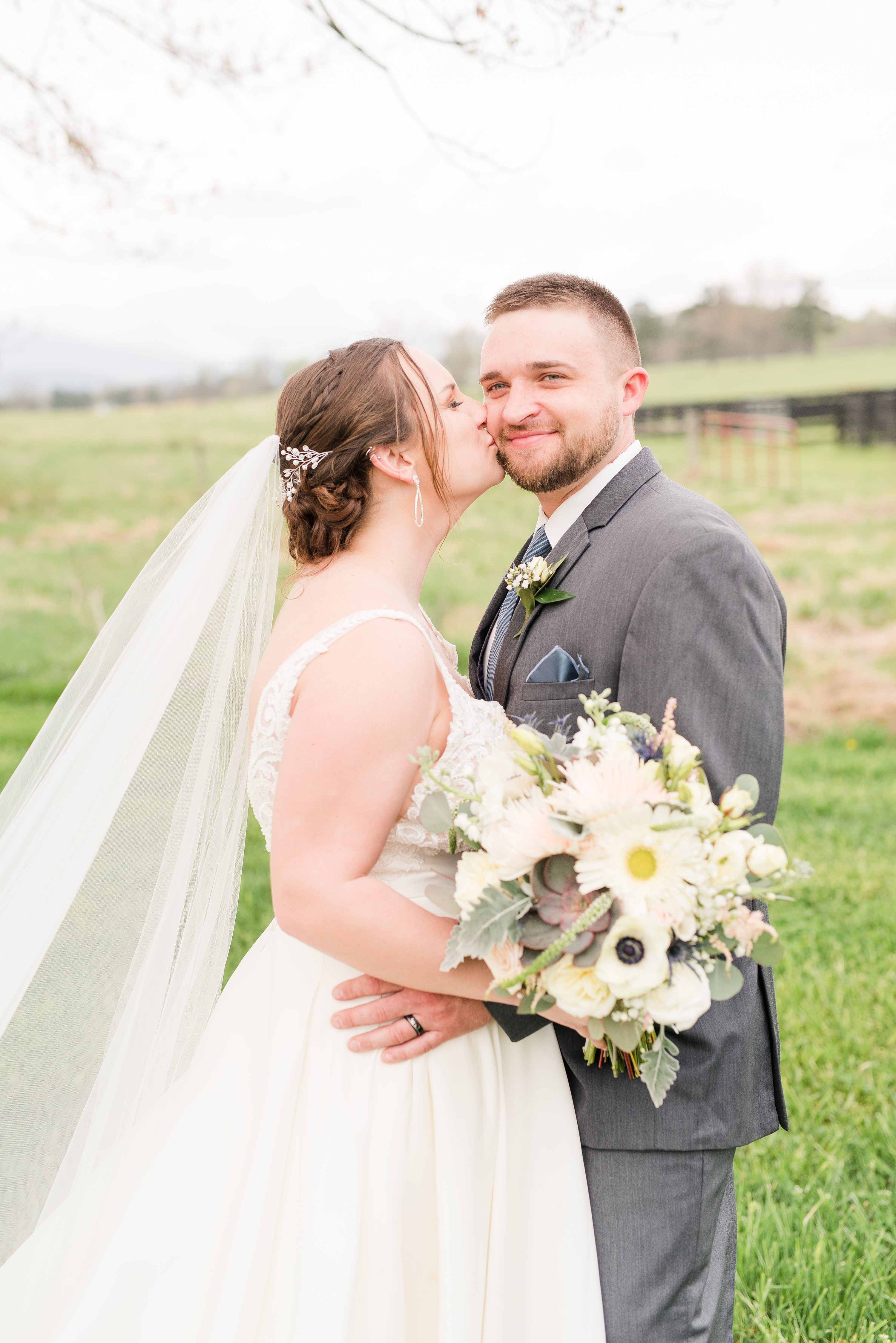 Blue Ridge Mountains Wedding,Spring Wedding,bride and groom,mountain wedding,edgewood barn