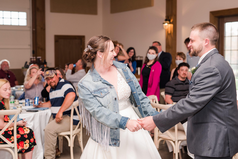 Blue Ridge Mountains Wedding,Barn,reception,bride and groom,edgewood barn