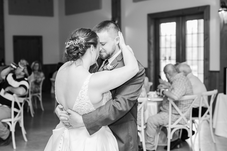 Blue Ridge Mountains Wedding,reception,bride and groom,edgewood barn,Wedding
