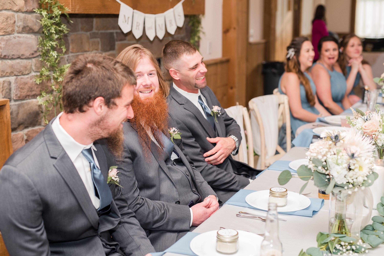 Spring,Blue Ridge,reception,bride and groom,edgewood barn,bridal party