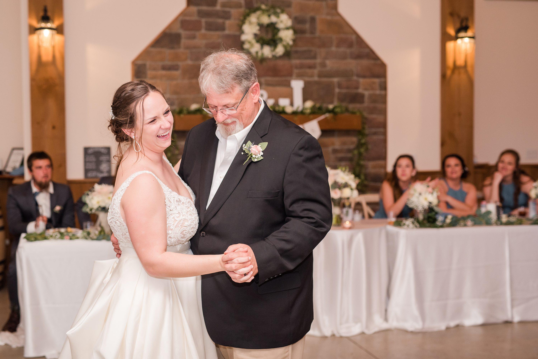 Edgewood,Blue Ridge,reception,bride,edgewood barn