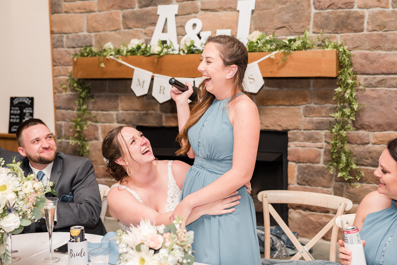 Virginia Wedding Photographer,Blue Ridge Mountains,reception,bride and groom,edgewood barn,speeches